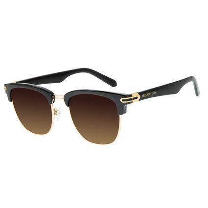 Óculos de Sol Unissex Alexandre Herchcovitch Jazz Degradê Marrom OC.CL.3139-5701