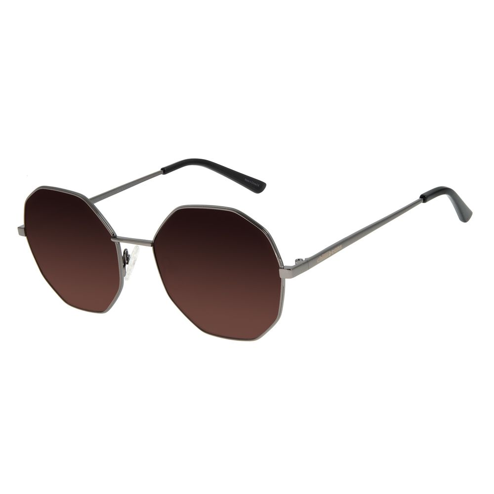 Óculos de Sol Feminino Chilli Beans Redondo Metal Ônix OC.MT.2732-5722