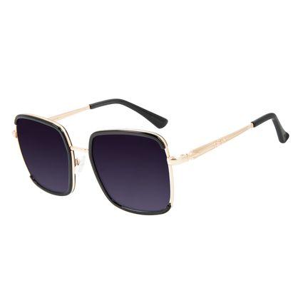 Óculos de Sol Feminino Alexandre Herchcovitch Olho de Hórus Marrom OC.CL.3043-2002
