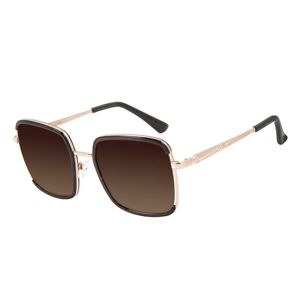 Óculos de Sol Feminino Alexandre Herchcovitch Olho de Hórus Vinho OC.CL.3043-5717