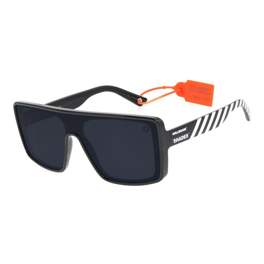 Óculos de Sol Feminino Funk-se Ludmilla Máscara Preto OC.CL.3164-0101