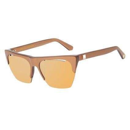 Óculos de Sol Feminino Funk-se Ludmilla Gatinho Degradê Marrom OC.CL.3167-5793