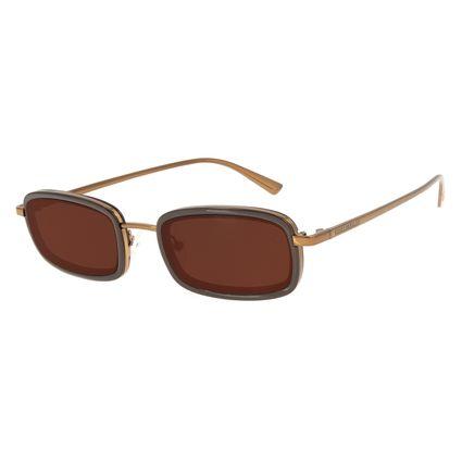 Óculos de Sol Feminino Funk-se Ludmilla Quadrado Marrom OC.CL.3172-0202