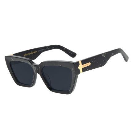 Óculos de Sol Feminino Funk-se Ludmilla Gatinho Preto OC.CL.3174-0101