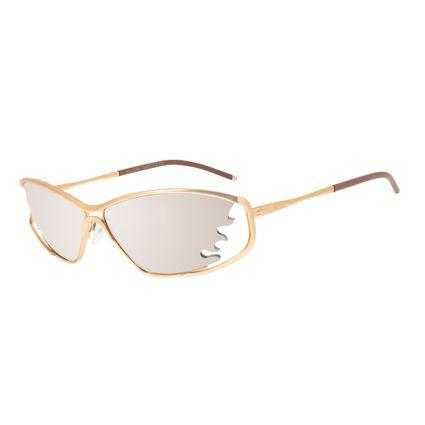Óculos de Sol Unissex Funk-se Ludmilla Chama Dourado OC.MT.2987-5721