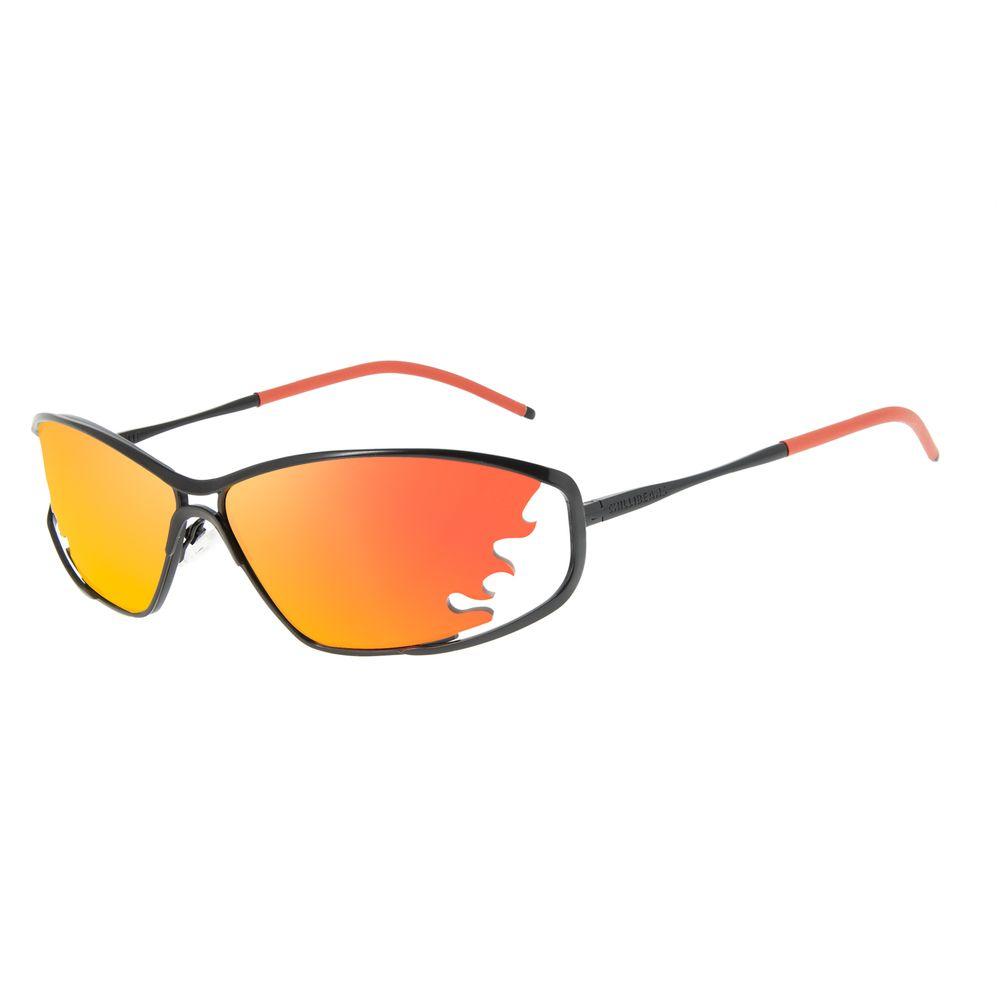 Óculos de Sol Unissex Funk-se Ludmilla Chama Espelhado OC.MT.2987-9201