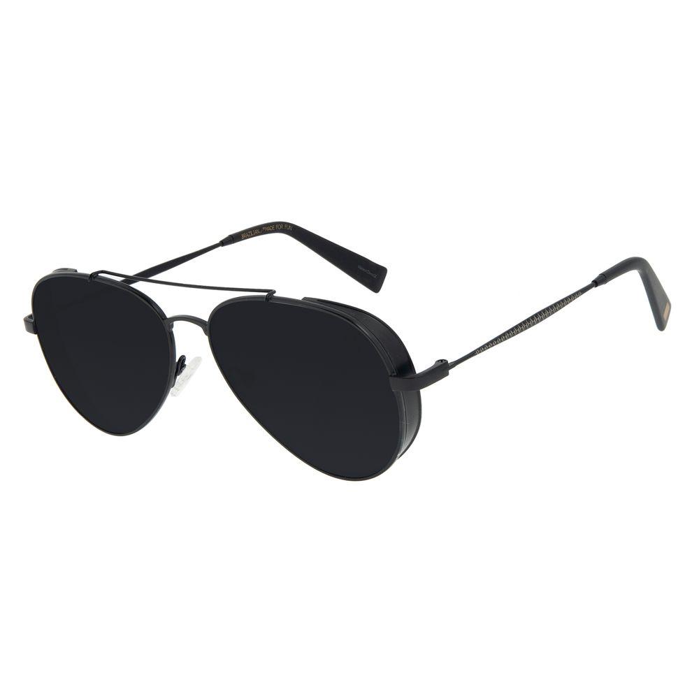 Óculos de Sol Feminino Funk-se Ludmilla Aviador Preto OC.MT.2989-0101