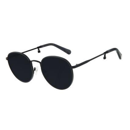 Óculos de Sol Feminino Funk-se Ludmilla Cadeado Preto OC.MT.2992-0101
