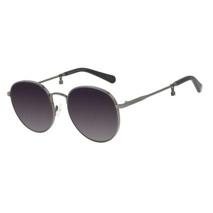 Óculos de Sol Feminino Funk-se Ludmilla Cadeado Ônix OC.MT.2992-0122