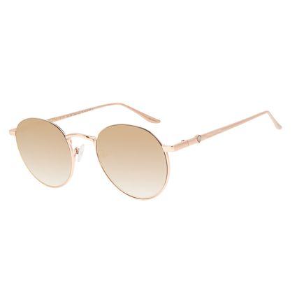 Óculos de Sol Feminino Funk-se Ludmilla Diamonds Dourado Banhado a Ouro OC.MT.2993-2021