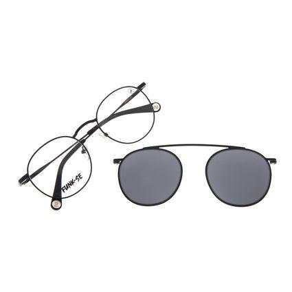 Armação Para Óculos de Grau Unissex Funk-se Ludmilla Multi Preto LV.MU.0522-0501