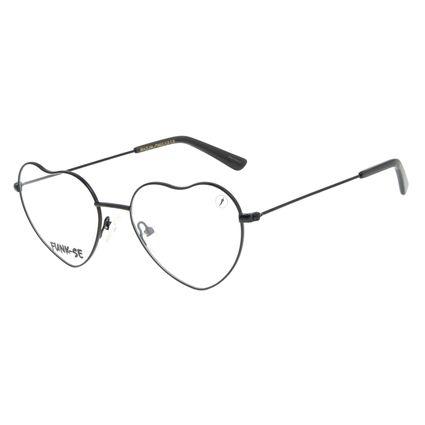 Armação para Óculos de Grau Feminino Funk-se Ludmilla Melody Preto LV.MT.0480-0101