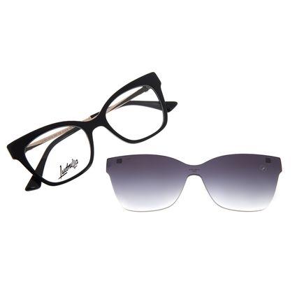 Armação Para Óculos de Grau Feminino Funk-se Ludmilla Multi Pedraria Preto LV.MU.0518-2001