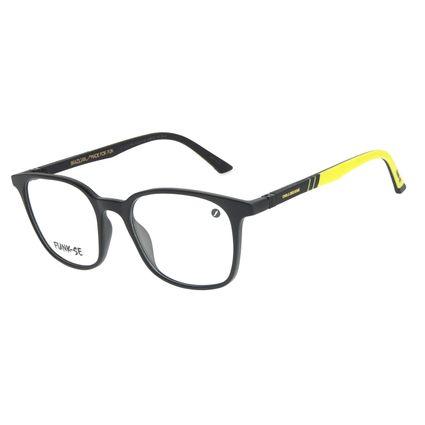 Armação Para Óculos de Grau Masculino Funk-se Ludmilla Amarelo LV.IJ.0190-0104