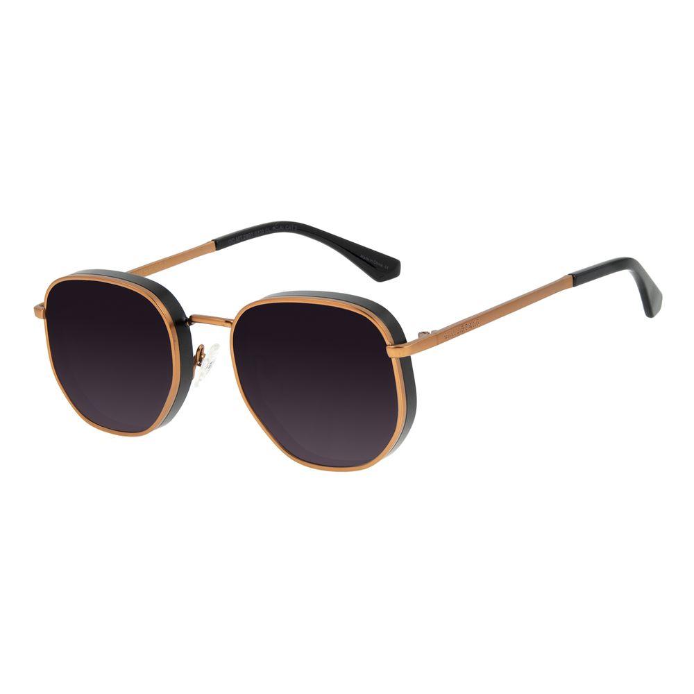 Óculos de Sol Feminino Funk-se Ludmilla Flap Marrom OC.MT.2991-0102