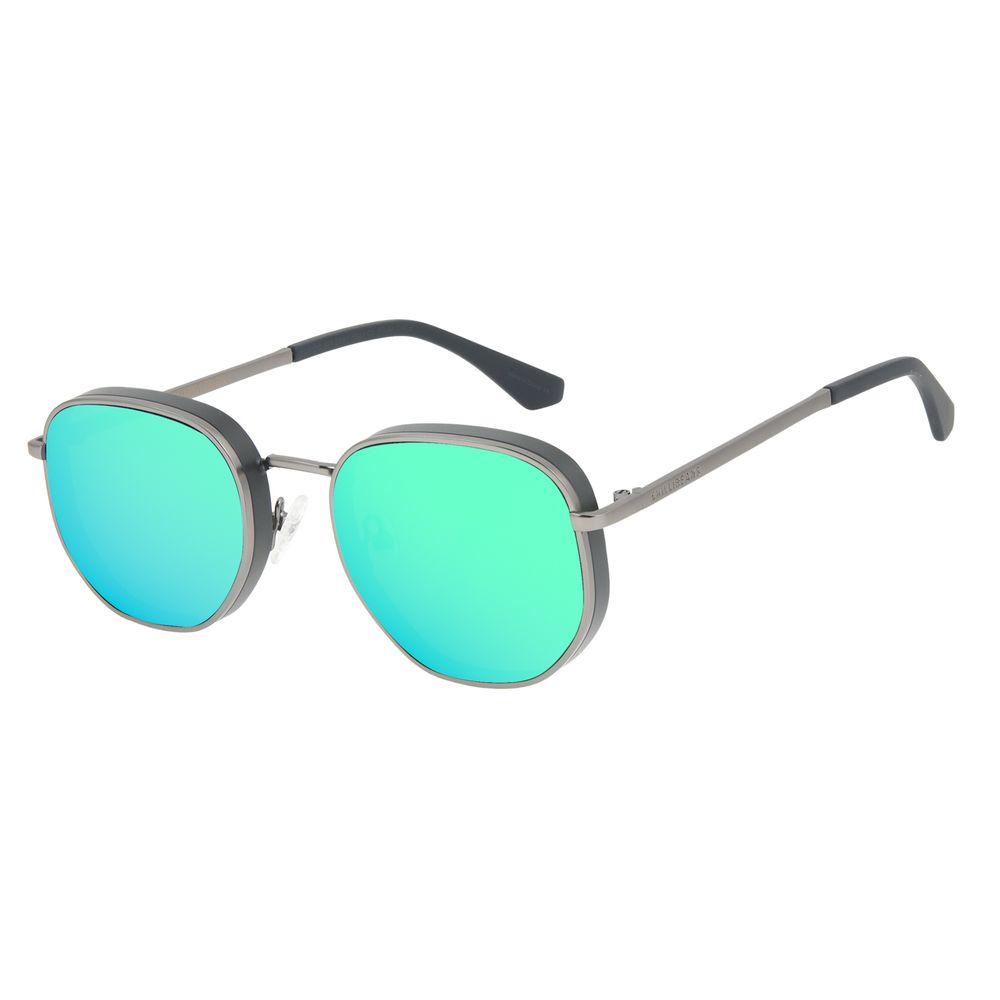 Óculos de Sol Feminino Funk-se Ludmilla Flap Ônix OC.MT.2991-8222