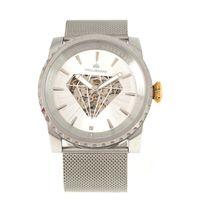 Relógio Automático Analógico Masculino Funk-se Ludmilla Diamond Prata RE.MT.1160-0707