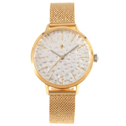 Relógio Analógico Feminino Funk-se Ludmilla Metal Dourado RE.MT.1161-0721