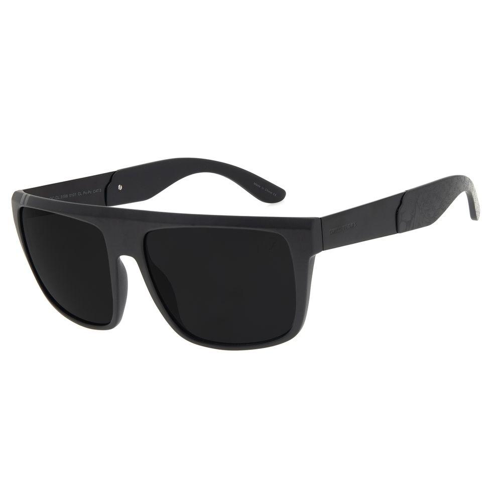 Óculos de Sol Masculino Funk-se Ludmilla Quadrado Preto OC.CL.3168-0101