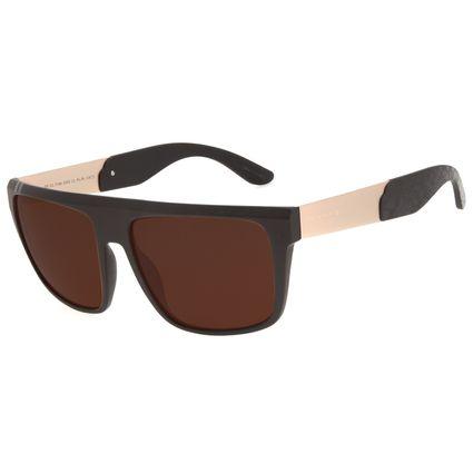 Óculos de Sol Masculino Funk-se Ludmilla Quadrado Marrom OC.CL.3168-0202