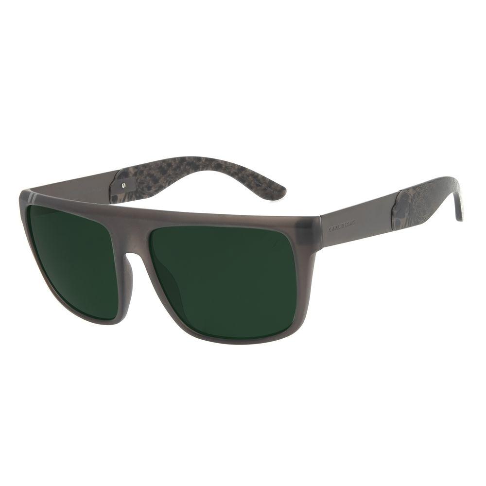 Óculos de Sol Masculino Funk-se Ludmilla Quadrado Degradê Verde OC.CL.3168-8236