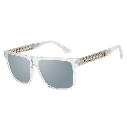 Óculos de Sol Masculino Funk-se Ludmilla Cordão de Ouro Banhado A Ouro Transparente OC.CL.3169-2036