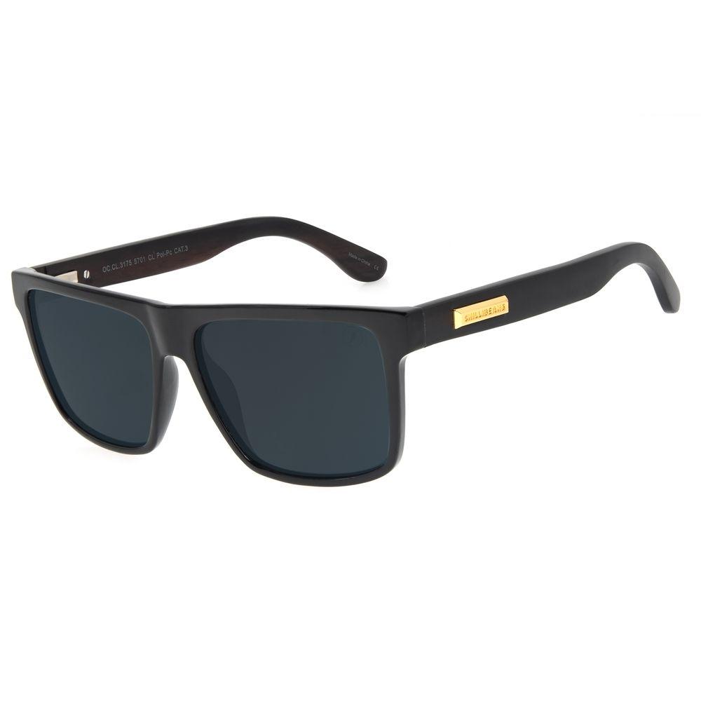 Óculos de Sol Masculino Funk-se Ludmilla Eco Degradê Marrom OC.CL.3175-5701
