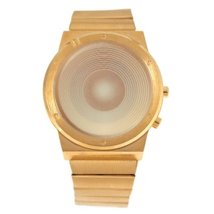 Relógio Digital Masculino Funk-se Ludmilla Caixa de Som Dourado RE.MT.1164-2121