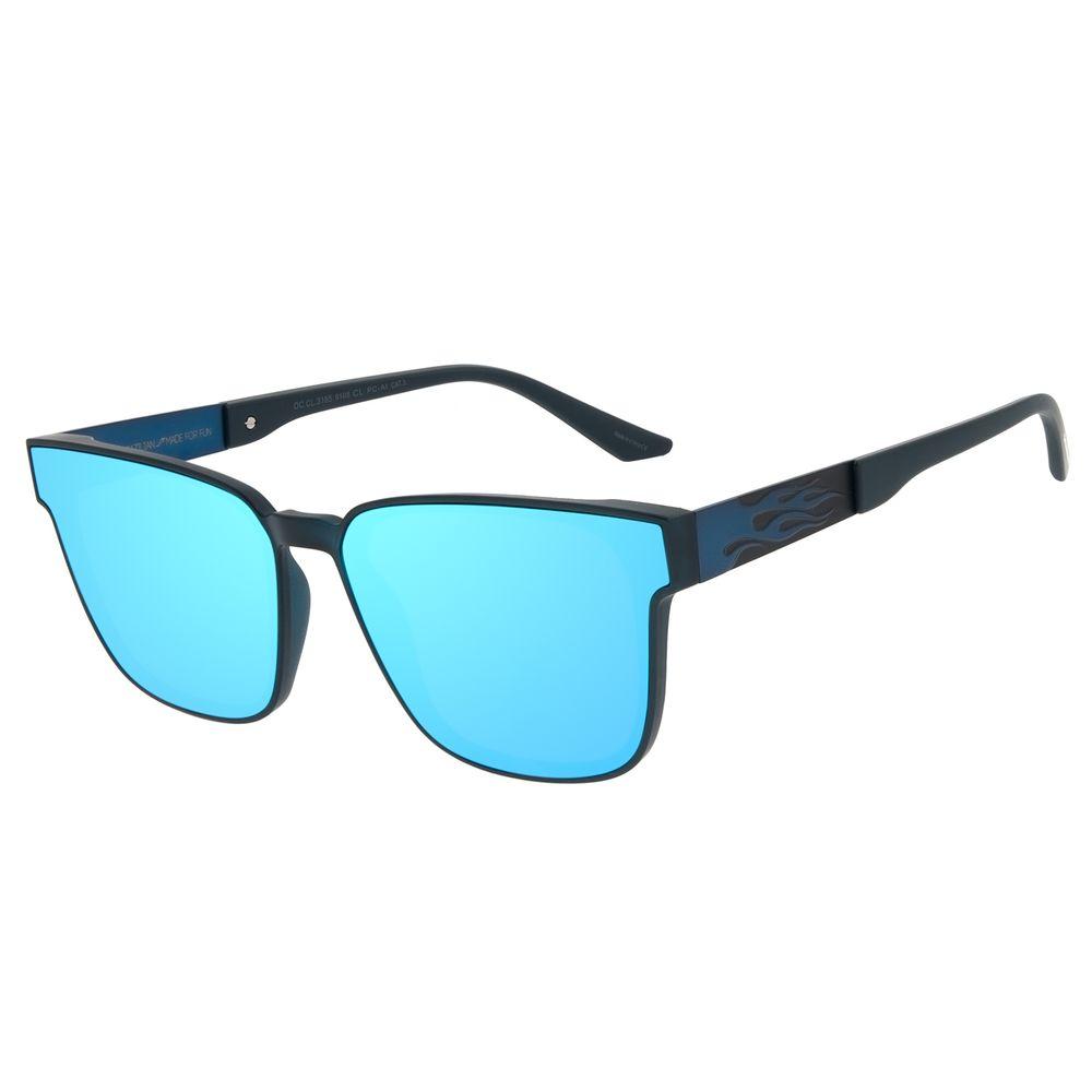 Óculos de Sol Unissex Funk-se Ludmilla Flame Degradê Espelhado OC.CL.3165-9108