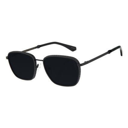 Óculos de Sol Unissex Funk-se Ludmilla Cifrão Preto OC.MT.2990-0101
