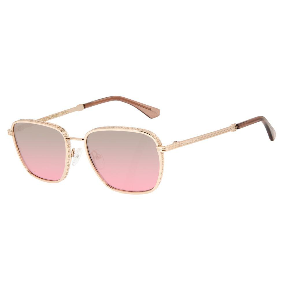 Óculos de Sol Unissex Funk-se Ludmilla Cifrão Dourado OC.MT.2990-2021