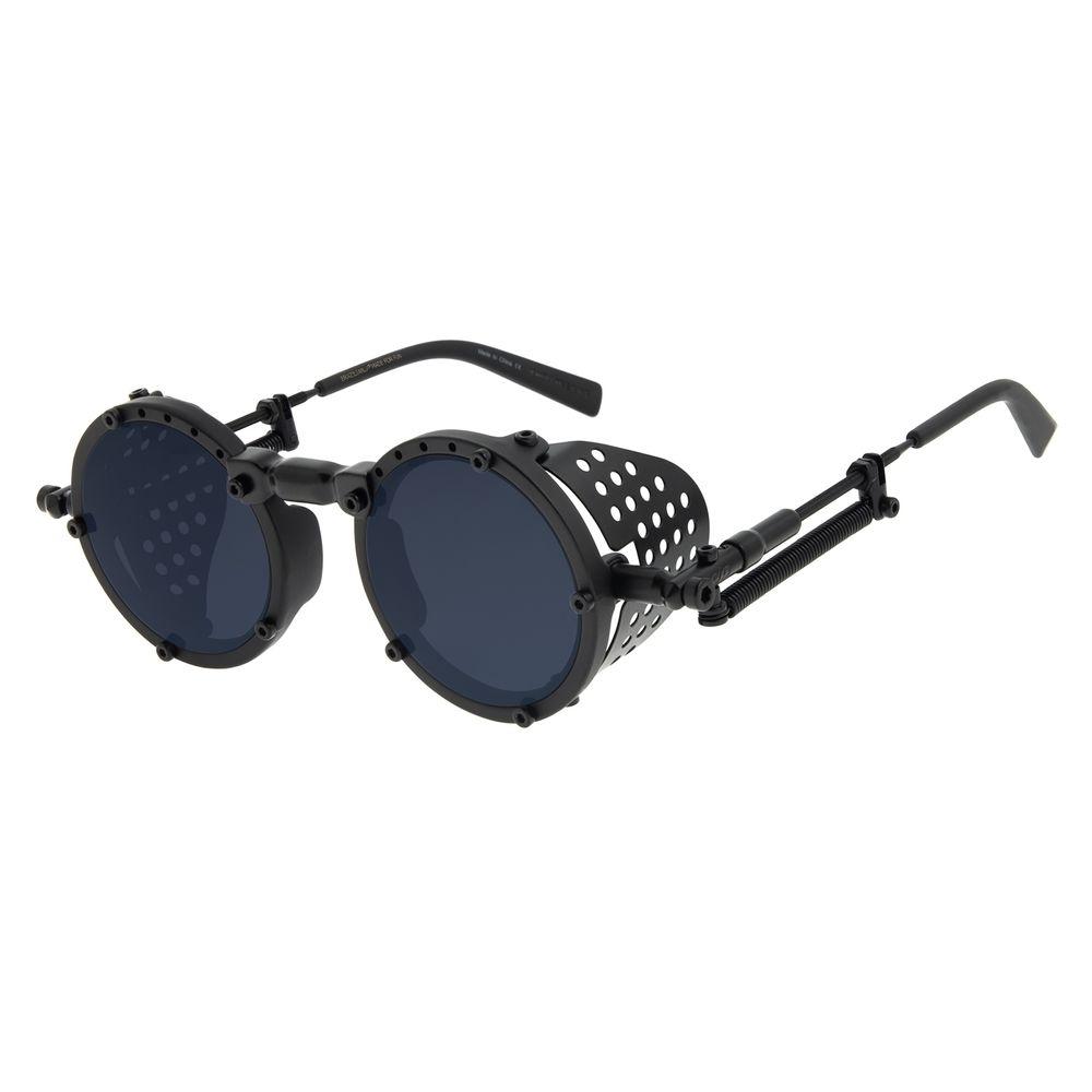 Óculos de Sol Unissex Alok Icônico Steampunk 2.0 Preto OC.CL.3142-0501