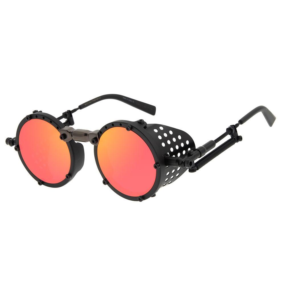 Óculos de Sol Unissex Alok Icônico Steampunk 2.0 Degradê OC.CL.3142-2031
