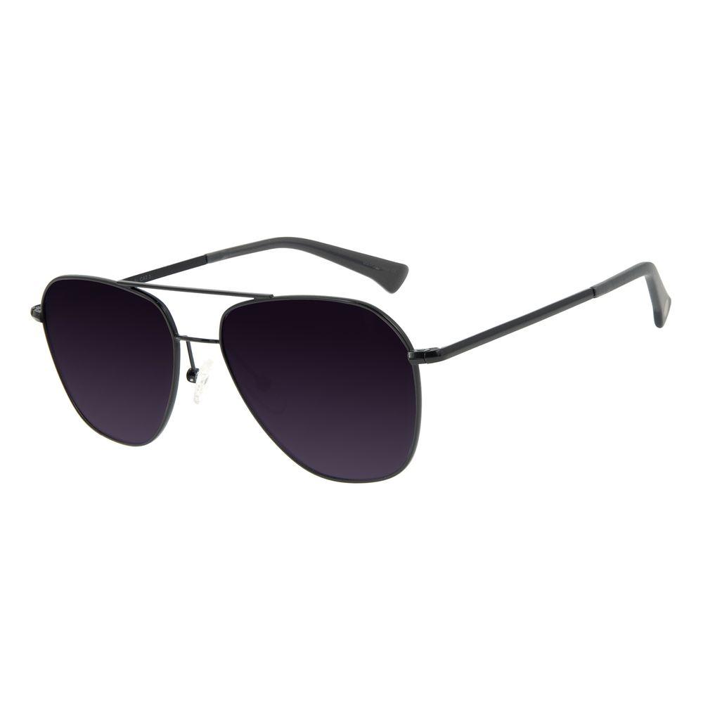 Óculos de Sol Unissex Chilli Beans Aviador Polarizado Fosco OC.MT.2922-2031
