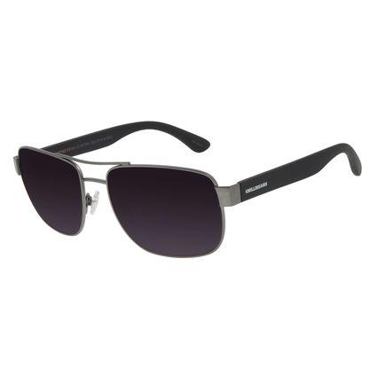Óculos de Sol Masculino Chilli Beans Executivo Metal Ônix OC.MT.3000-2022