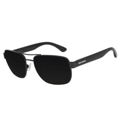 Óculos de Sol Masculino Chilli Beans Executivo Metal Preto OC.MT.3000-0101