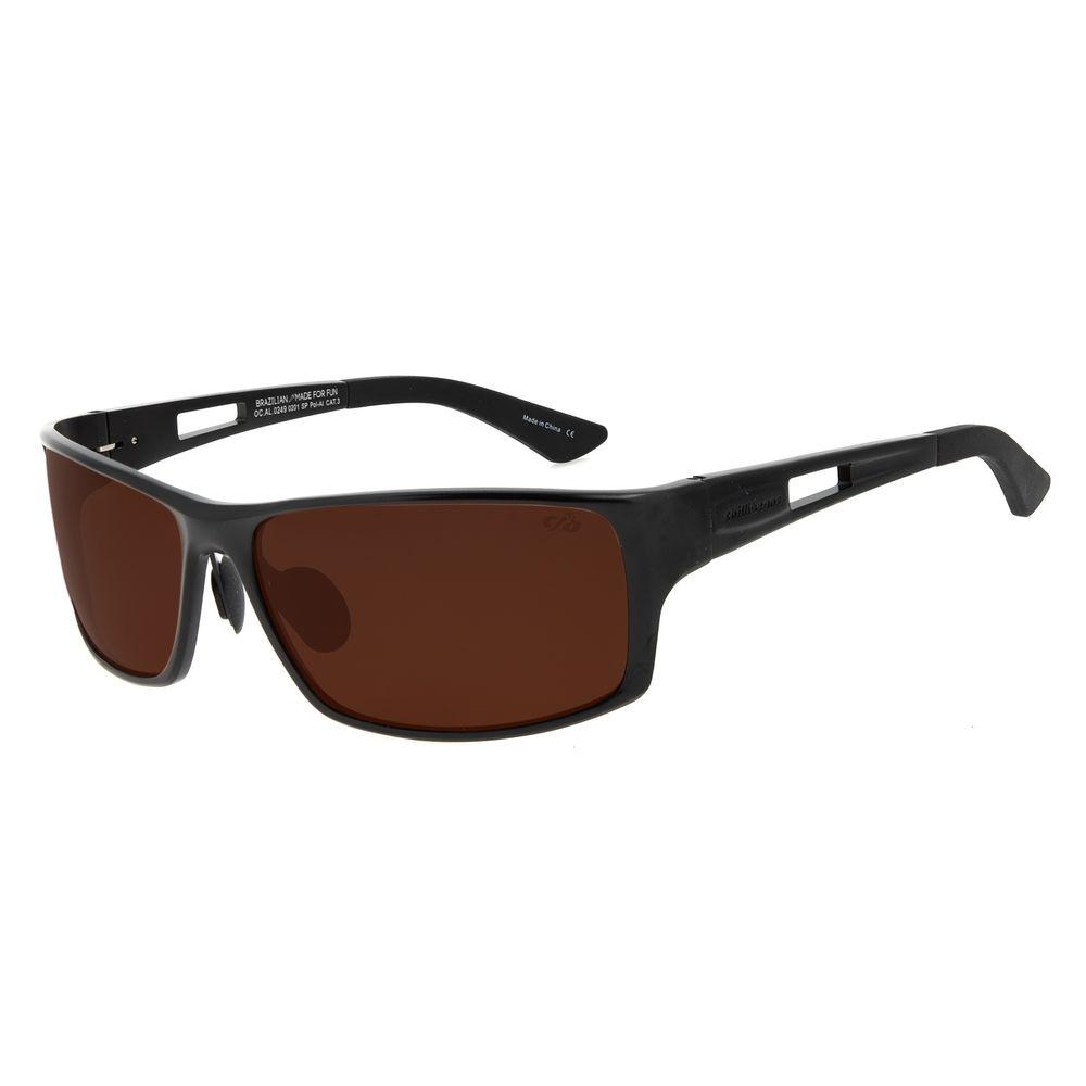 Óculos de Sol Masculino Chilli Beans Performance Marrom OC.AL.0249-0201