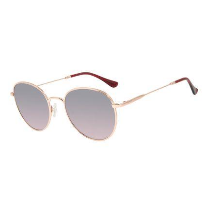 Óculos de Sol Feminino Chilli Beans Rosé Banhado A Ouro OC.MT.2920-1895