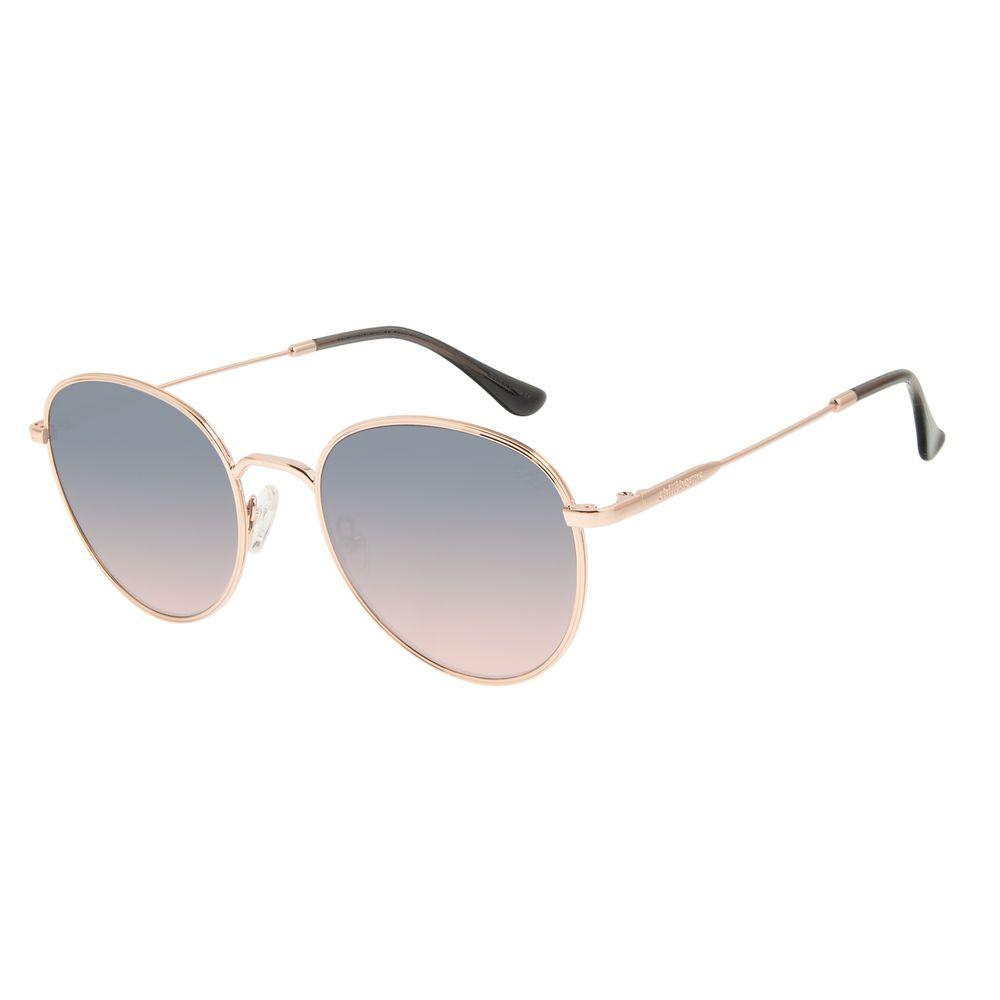 Óculos de Sol Feminino Chilli Beans Degradê Banhado A Ouro OC.MT.2920-2095