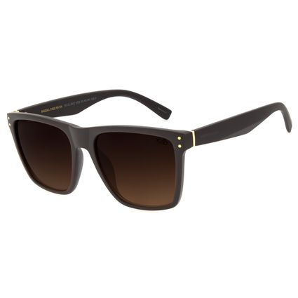 Óculos de Sol Masculino Chilli Beans Bossa Nova Marrom OC.CL.2542-5702