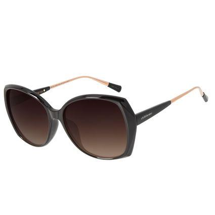 Óculos de Sol Feminino Chilli Beans Quadrado Degradê Marrom  OC.CL.2736-5702