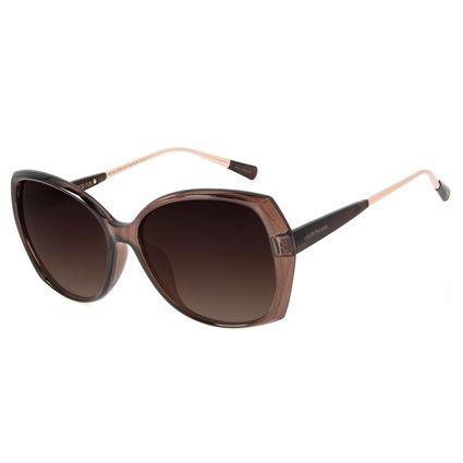 Óculos de Sol Feminino Chilli Beans Quadrado Marrom OC.CL.2736-5747
