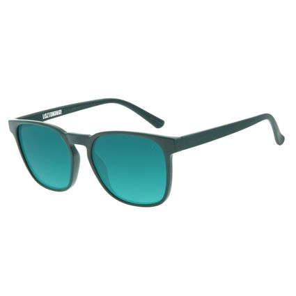Óculos de Sol Masculino Lollapalooza Brasil Lisztomania Bossa Nova Degradê Verde OC.CL.2988-8215