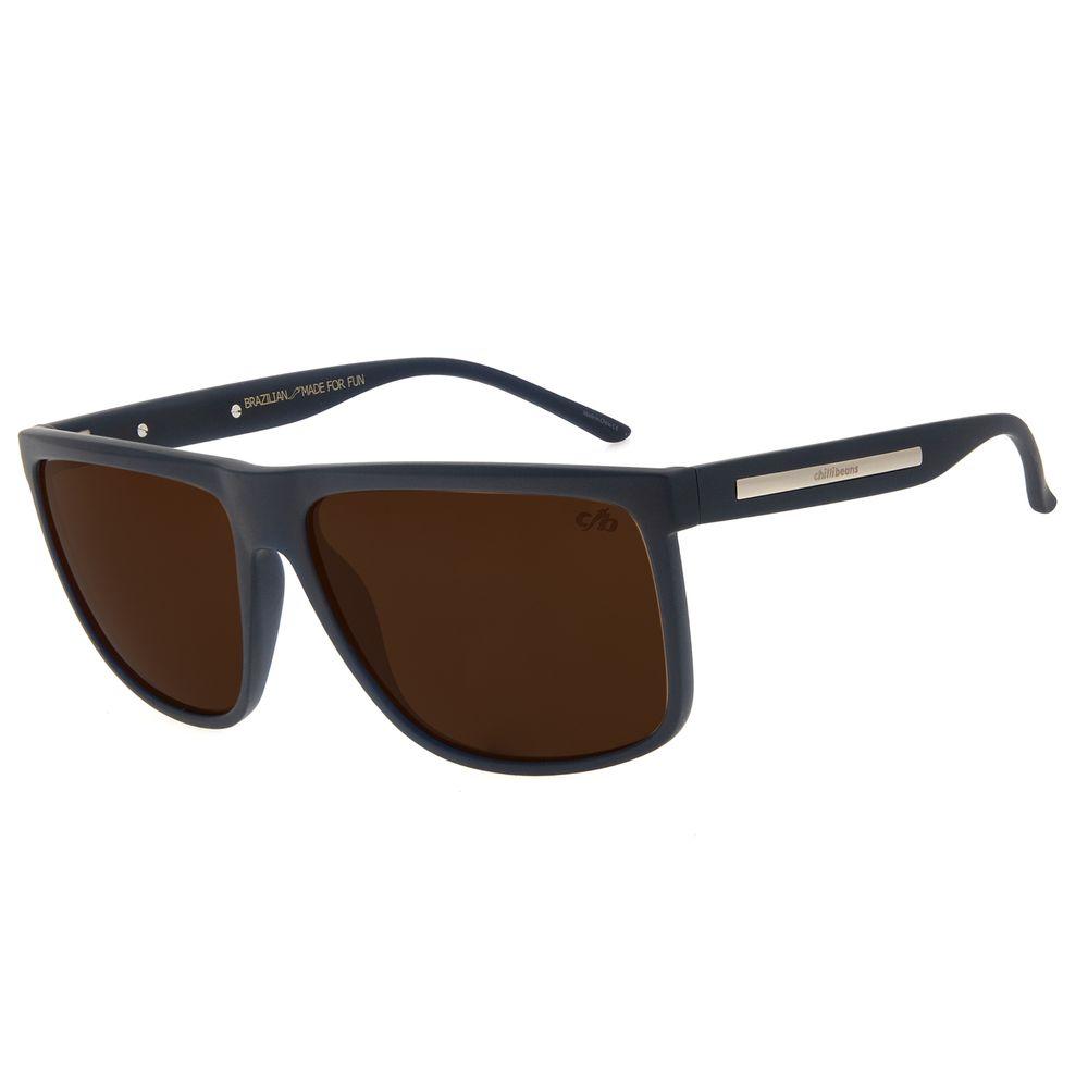 Óculos de Sol Masculino Chilli Beans Bossa Nova Marrom OC.CL.2990-0208