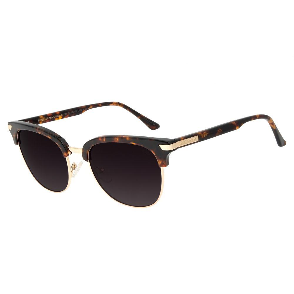 Óculos de Sol Feminino Chilli Beans Jazz Tartaruga OC.CL.3008-5706