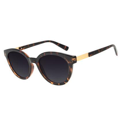 Óculos de Sol Feminino Chilli Beans Redondo Tartaruga OC.CL.3051-2006