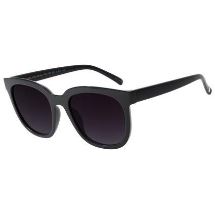 Óculos de Sol Feminino Chilli Beans Quadrado Preto  OC.CL.3068-2001