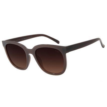 Óculos de Sol Feminino Chilli Beans Quadrado Degradê Marrom OC.CL.3068-5702