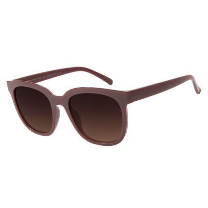 Óculos de Sol Feminino Chilli Beans Quadrado Vinho OC.CL.3068-5717