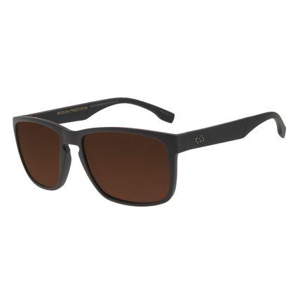 Óculos de Sol Unissex Chilli Beans Esportivo Marrom OC.ES.1245-0202